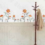 Flower Decor-3 - Wall Decals Stickers Appliques Home Decor