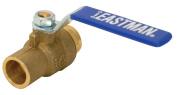 Eastman 20065 2.5cm C x C Brass Heavy Duty Full Port Ball Valve