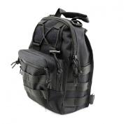 Shuweiuk Tactical Sling Backpack Military Shoulder Chest EDC Bag for Outdoor Sport Camp Hiking