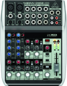 Xenyx Q1002USB Premium 10-Input 2-Bus Mixer with Xenyx Mic Preamps and Compressors, British EQs and USB/Audio Interface