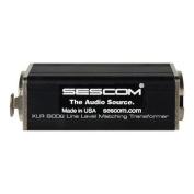 SES-XLR-ISO Inline XLR Line Matching Transformer