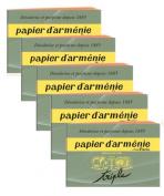 """Papier d'Armenie - Armenian Paper - """"TRADITION"""" BOOKLET - 5 x Booklets"""