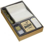 Inkadinkado Paper Stamping Kit 15cm x 25cm -Holiday Wine Bottle Bag