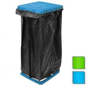 60L Rubbish Bag Refuse Sack Bin Liner Waste Disposal Garbage Bag Stand Holder