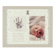 bambino photoframe print tiny fingers & ink pad