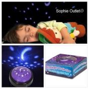 Kids Star light Projector Baby Room Autism Sensory Moon Starlight Night Sky Toy
