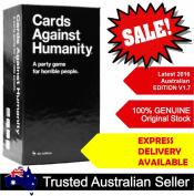 Cards Against Humanity V1.7 Australia AU Edition BASE SET 550 Cards Party Game Latest Ver 1.7. Melbourne Stock? Genuine?