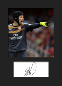 PETR CECH - ARSENAL Signed Mounted Photo A5 Print