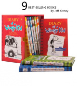 Diary of a Wimpy Kid 1-9 Books Collection box Set
