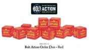 Bolt Action Orders Dice (Pack of 12) - Red