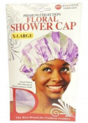 Donna's Premium Floral Shower Cap X-Large