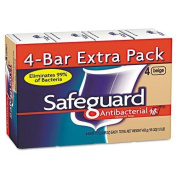 SAFEGUARD 8833 Antibacterial Bath Soap, Beige, 120ml Bar, 48/Carton