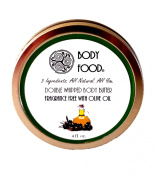 Double Whipped Fragrance Free Body Butter with Olive Oil - 120ml