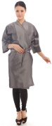 Salon Client Gown Hairdressing Gowns Kimono Style- 110cm Long