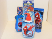 The Amazing Spiderman Bath Set Bundle of 4
