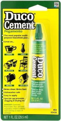 Duco Cement Adhesive Ceramic, Glass, Plastic Tube 30ml