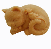 GRAINRAIN Silicone Soaps Mould Cats and Mouse Soap Making Mould Resin Moulds Handmade Soap Moulds Diy Craft Art Moulds 1 pc