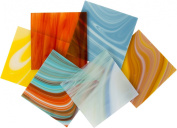 System 96 Assorted Variety Glass Pack - 4 X 4 Sheets - 6 Pack