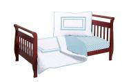 Baby Doll Soho Toddler Bedding Set, Aqua