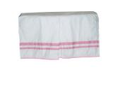 Baby Doll Soho Crib Dust Ruffle, Pink