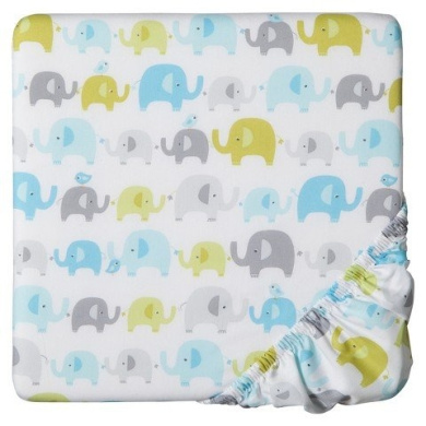 Circo Trunks of Love Fitted Crib Sheet