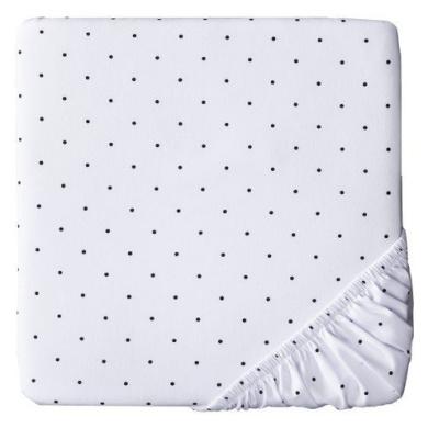Circo Woven Sheet - Black Dots