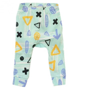 Ding-dong Baby Kid Boys Girls Geometry Cartoon Pants