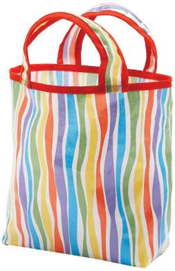 AM PM Kids! Mini Sunday Bags, Stripes