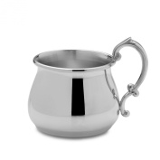 Empire Pot Belly Pewter Baby Cup