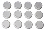 Replacement Bottle Caps for Libbey and Stanpac Milk Bottles 48 mm,
