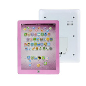 Baby Kids Education Toy, FTXJ Educational Child Touch Type Computer Tablet English Learning Study Machine Toy Pink