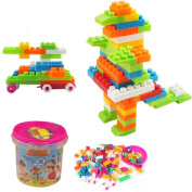 Baby Kids Education Toy, FTXJ Cute Educational Toy Multicolor Assembled Creative Building Blocks