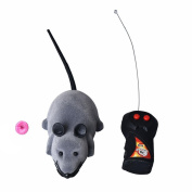 Baby Kids Education Toy, FTXJ Cute Mini Scary RC Remote Controller Simulation Plush Mouse Mice Kid Toy Gift