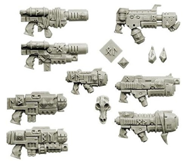 Wolves Space Knights Guns