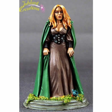 Approaching Storm Female Mage Elmore Masterworks Dark Sword Miniatures