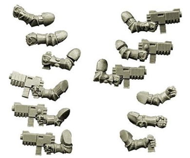 28mm Sci-Fi - Changed Legions: Changed Knight Hands with Rapid Guns