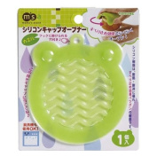 green frog silicone grip opener from Japan