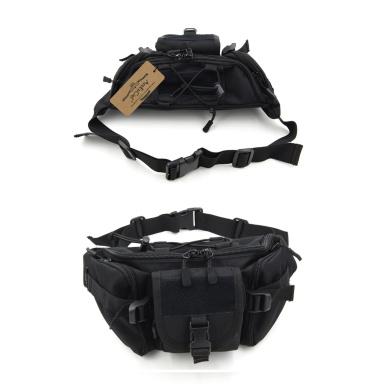 ArcEnCiel Hip Pack Tactical Waist Packs Water-Resistant Waist Bag Fanny Pack Belt Bag Hiking Climbing Outdoor Bumbag