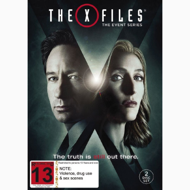 The X-Files Event Series 2016 DVD 2Disc