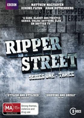 Ripper Street: Series 1 - 3