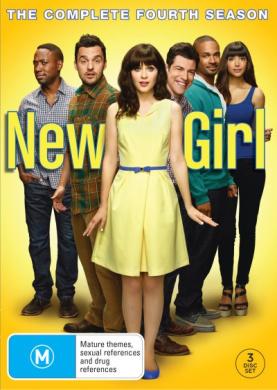New Girl Season 4 DVD 3Disc