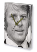 ROBERT REDFORD - Canvas Clock (A5 - Signed by the Artist) #js002