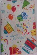 """Flannel Back Vinyl """"Roosters """" Tablecloth Assorted Sizes Oblong by Elrene (52 x 90 Oblong) by Elrene"""