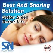 Silent Nights Anti Snore Mouth Guard - Stop Teeth Grinding - Superior Mouth Guard - BPA FREE - Satisfaction Guaranteed
