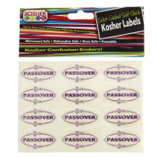 The Kosher Cook KCKH2001PAS 24 Passover Labels