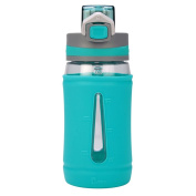 Bubba Brands Flo Silicone Water Bottle, 470ml, Mint