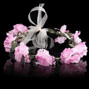 Bridal Flower Wreath Headband Crown Garland Halo Headdress Simulation for Wedding Festivals Seaside Resort Beach Accessories