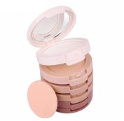 Tinabless 5 Colour Contour and Highlight Kit - Professional Makeup Face Pressed Powder - Beauty Cosmetics Tools - Make Up Base Foundation - Contouring and Highlighting Palette - Shading Concealer Set for Girl