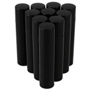 BQLZR Black 5ml Empty Plastic Lip Gloss Tube Lip Balm Bottle Containers Pack of 10