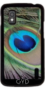Case for Google Nexus 4 - Peacock20160302 by JAMFoto